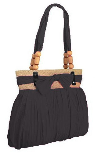 1Katy Ruched Bow Shoulder Bag