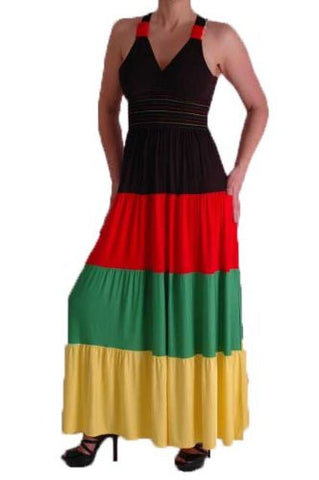 Unity Multicoloured Jersey Knited Dress
