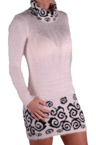 Polo Neck Knitted Jumper