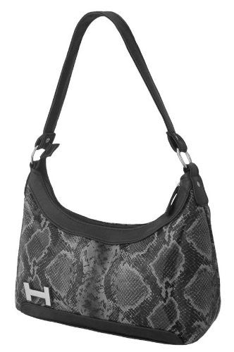 1Croc Print Shoulder Bag