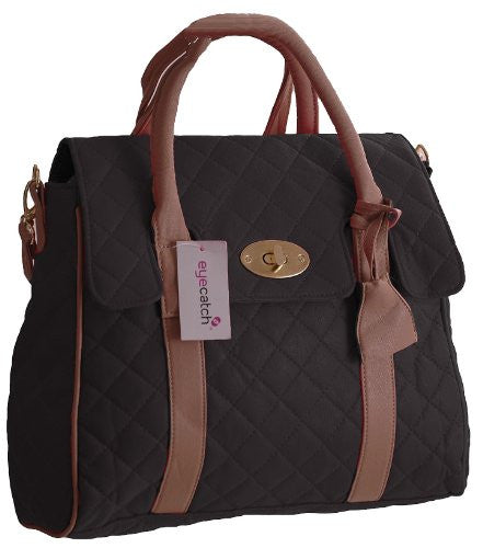 1Kimberely Quilted Satchel Bag