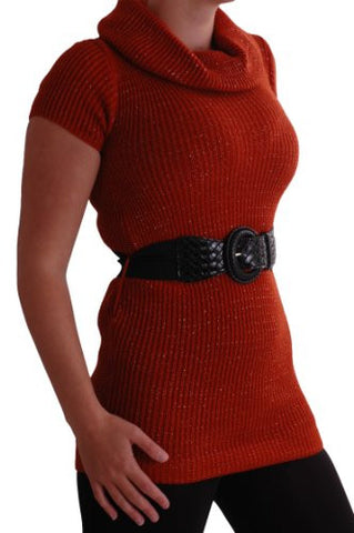 Ava Polo Neck Belted Jumper