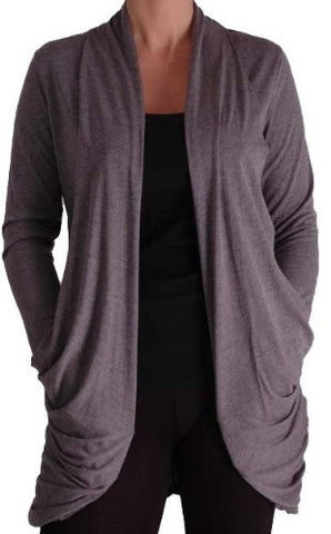 Gina Jersey Cardigan with Pockets