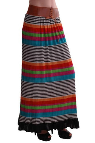 Ellie Multicoloured Maxi Skirt