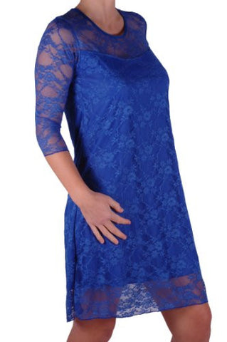 Jolene Floral Lace Plus Size Dress