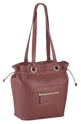 Diaz Faux Leather Hobo Bag
