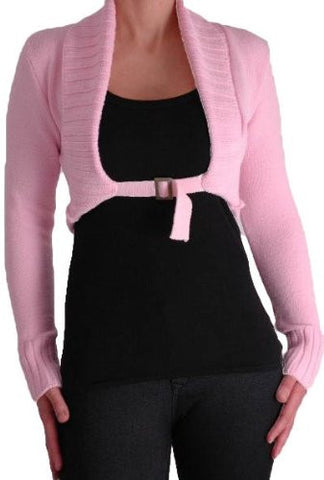 Chiara Scoop Neck Buckle Knitted Cardigan