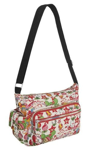 1Ally Printed Shoulder Bag