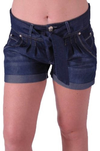 1Stylish Belted Shorts