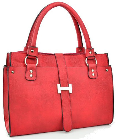 Sirius Faux Leather Messenger Satchel Bag