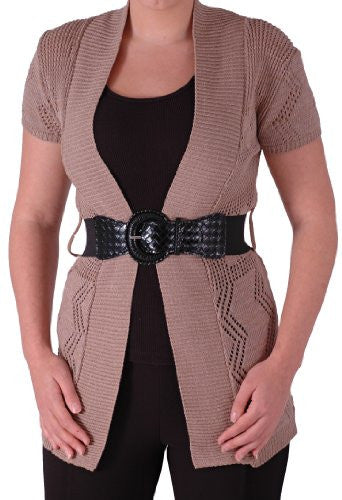 1Holland Belted Knitted Cardigan