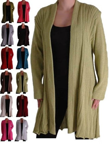 Colorado Knitted Draped Waterfall Cardigan