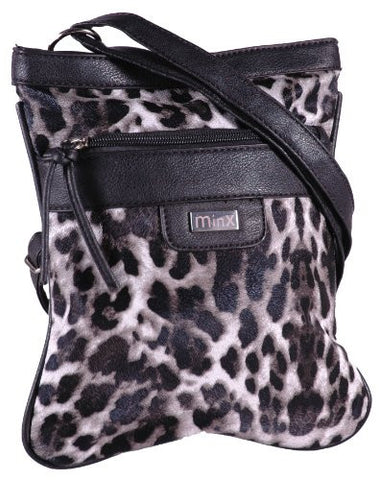 Astrid Leopard Print Cross Body Shoulder Bag