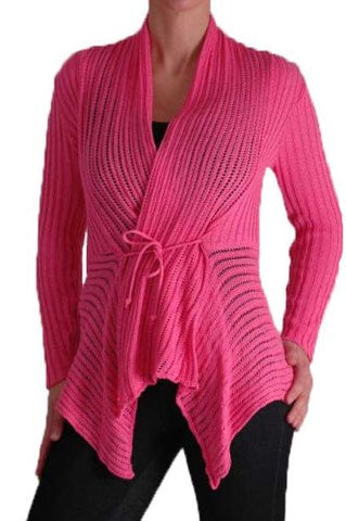 Hudson Ribbed Knitted Cardigan