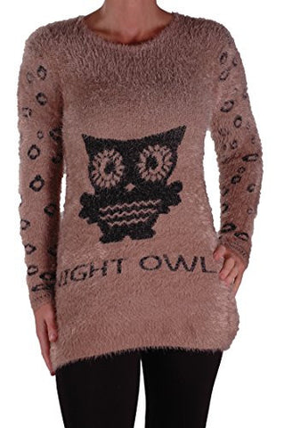 Night Owl Print Jumper