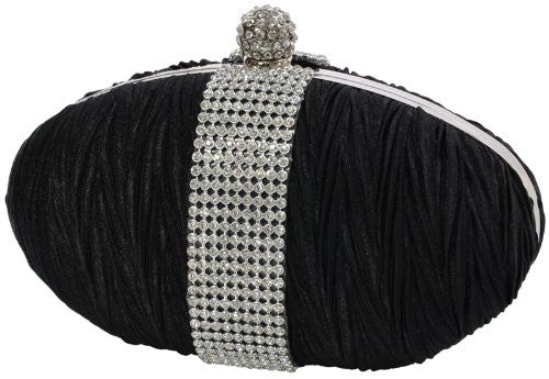1Diamante Mini Clutch Bag