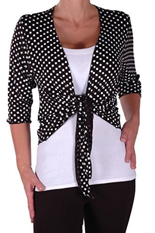 Orla Mid Length Spotty Plus Size Shrugs