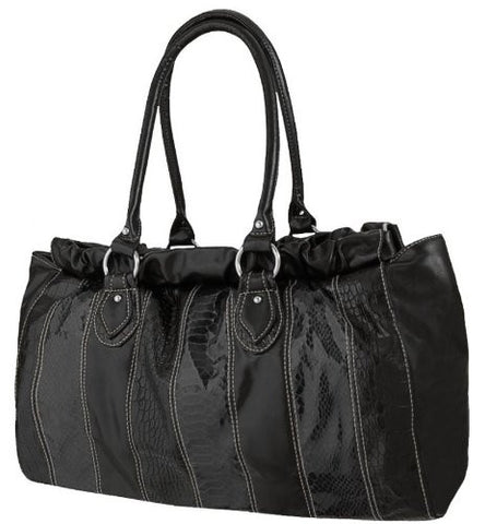 Bella Faux Leather Shoulder Bag