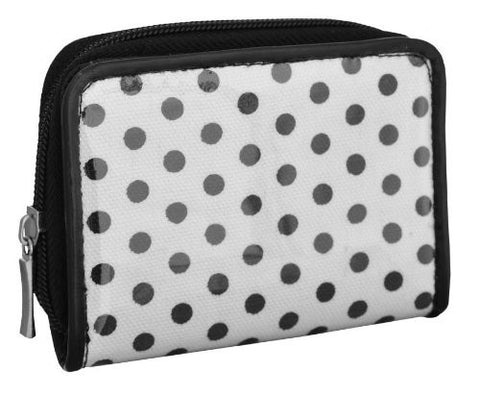 Brooklyn Canvas Polka Dot Purse