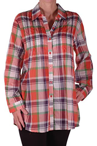 Smart Check Blouse