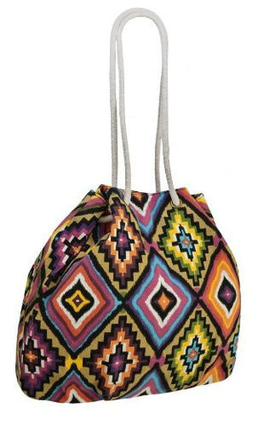 EyeCatchBags - Psychedelic Aztec Ladies Canvas Shoulder Bag