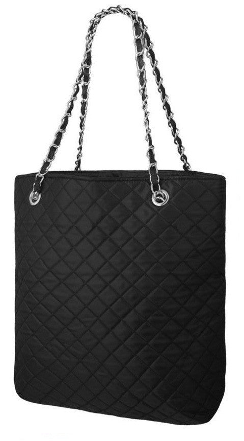 1EyeCatchBags - Quilted Nylon Underam Shoulder Bag Handbag