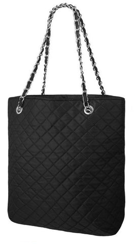 EyeCatchBags - Quilted Nylon Underam Shoulder Bag Handbag