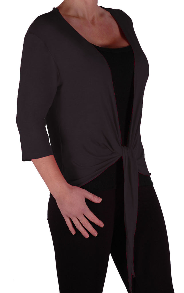 1EyeCatch - Rivera Mid Length Womens Shrug Wrap Cardi Ladies Plus Sizes 14 - 28
