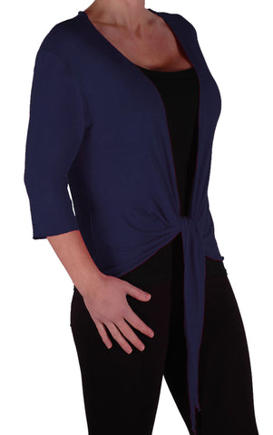 EyeCatch - Rivera Mid Length Womens Shrug Wrap Cardi Ladies Plus Sizes 14 - 28