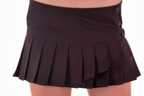 Roxy Box Pleated Mini Skirt