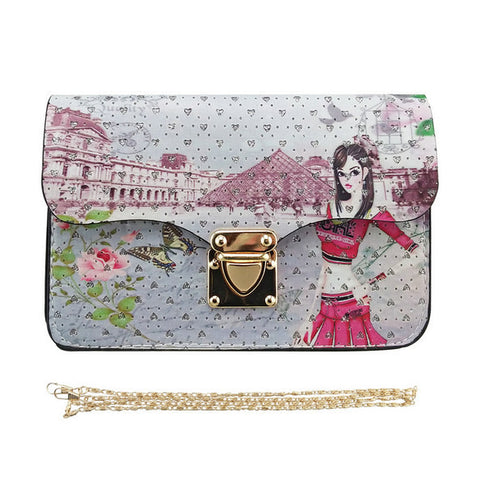 Graphic Designer Clutch Bag