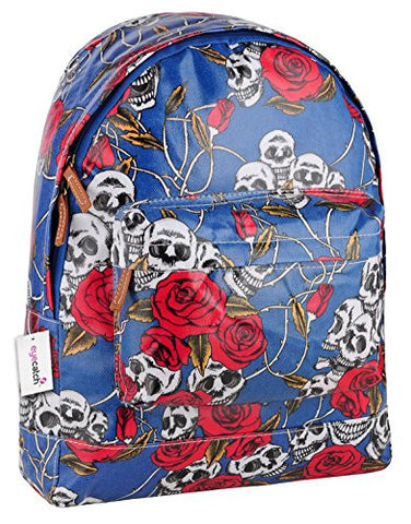 Skull Roses Print BackPack