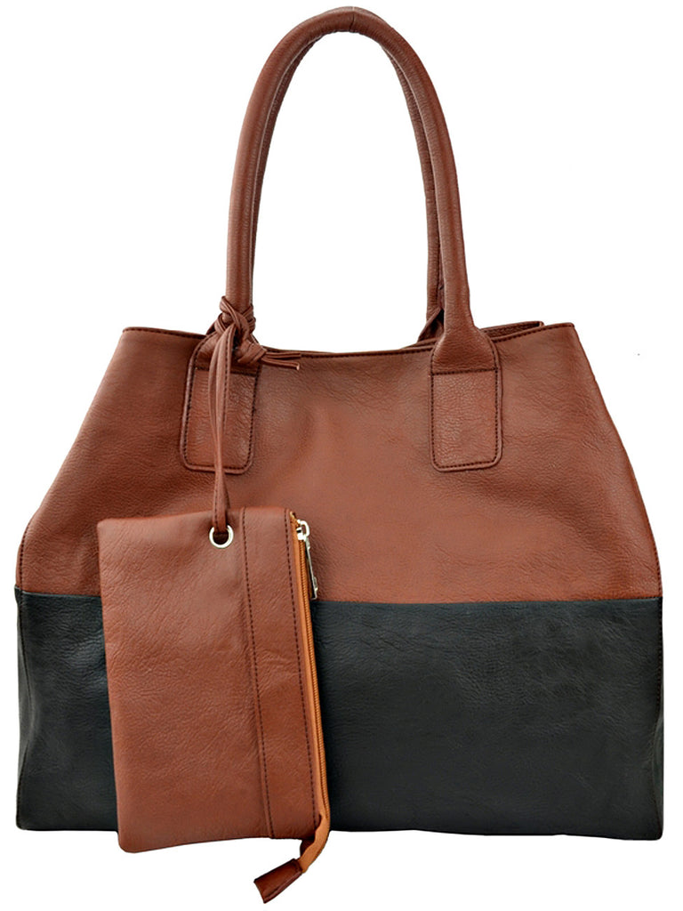 1Faux Leather Hobo Bag