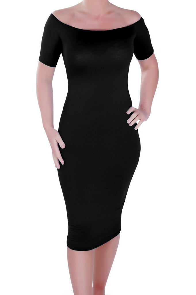 1Corinna Off the Shoulder Bodycon