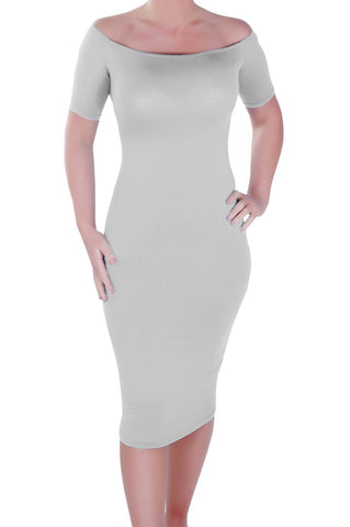Corinna Off the Shoulder Bodycon