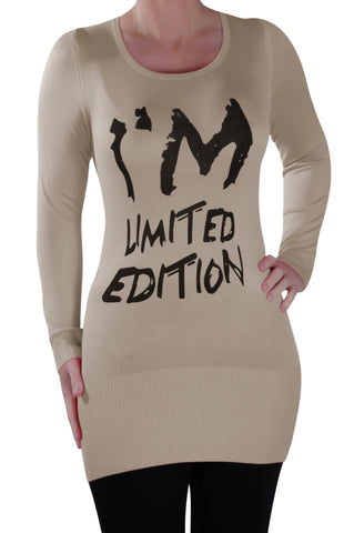 I'm Limited Edition Slogan Long Sleeve T-Shirt