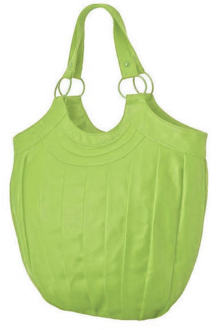 EyeCatchBags - Inca Womens Shoulder Bag Handbag Lime