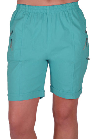 Elasticized Plus Size Shorts