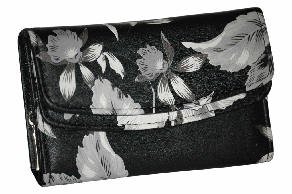 Soft Faux Leather Printed Wallet