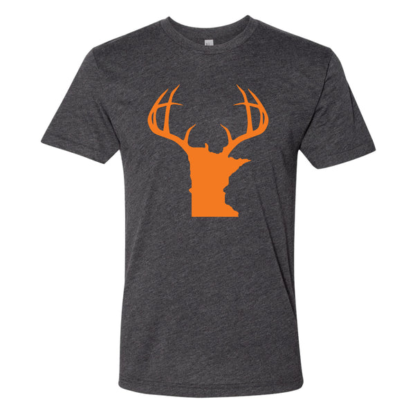 Minnesota Antlers Blaze Orange T-Shirt