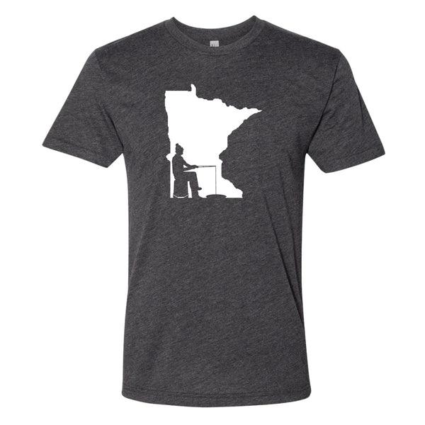 Ice Fishing Minnesota T-Shirt