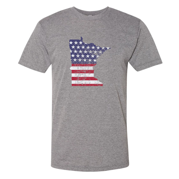 Minnesota USA Flag T-Shirt