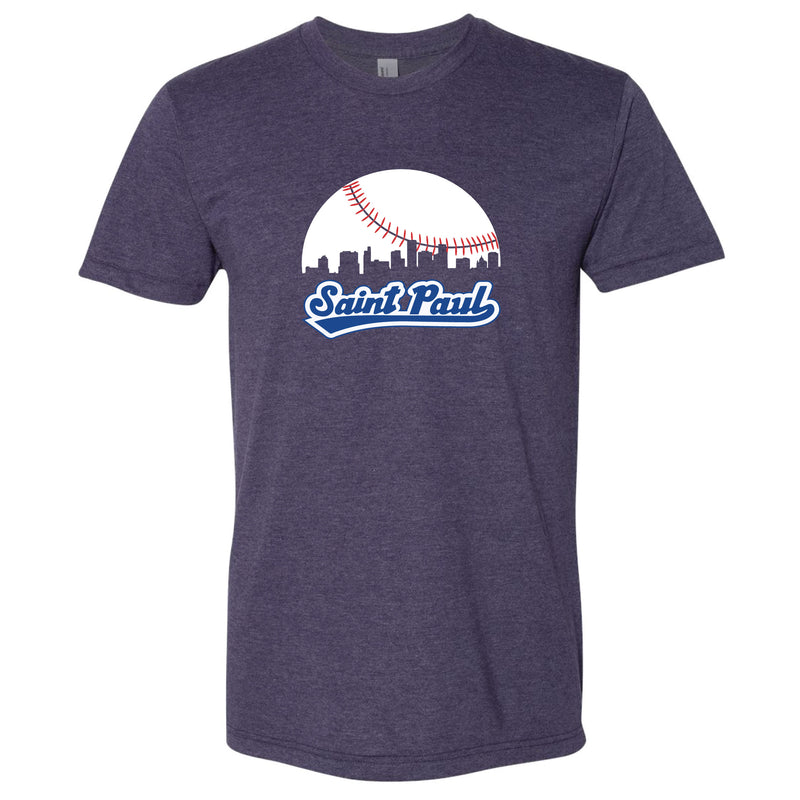Skyline Saint Paul Baseball T-Shirt
