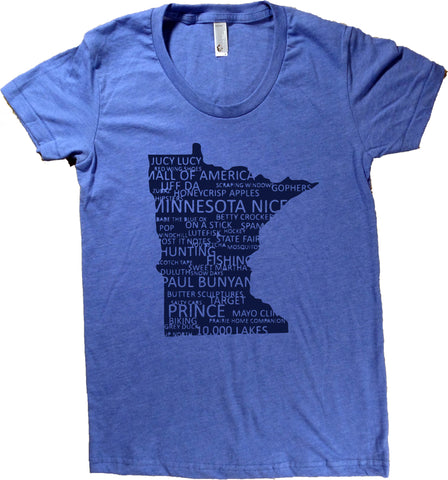 Minnesota Everything T-Shirt - Women's Fitted