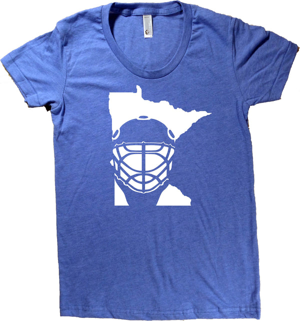 Minnesota Hockey T-Shirt - Women's Fitted