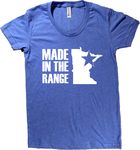 Minnesota Iron Range T-Shirt - Women's Fitted