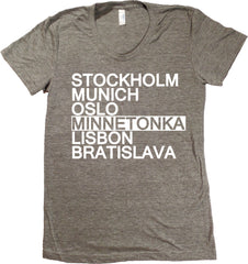 Minnetonka Minnesota T-Shirt - Women's Fitted