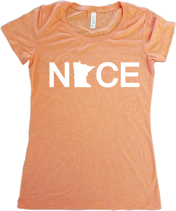 Minnesota Nice T-Shirt - Women's Fitted