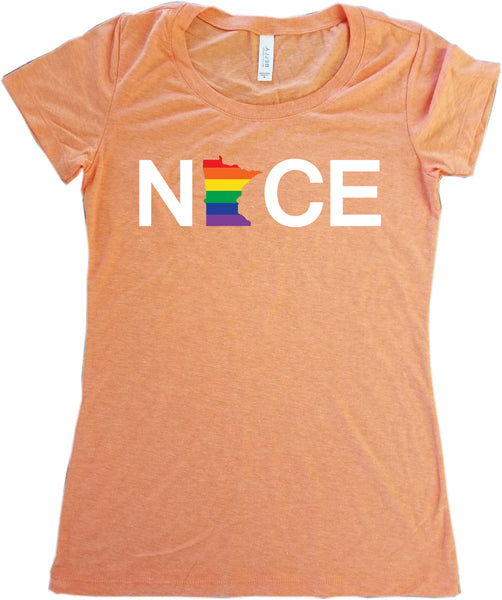 Minnesota NICE T-Shirt - Women's - Pride Collection