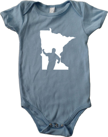 The Kirby Shirt - Minnesota Infant Baby One-Piece